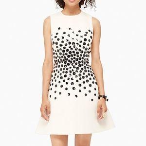 Kate Spade Hydrangea Embellished Dress Size 0